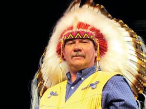 Chief Norman Bernard of Wagmatcook