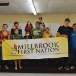 Millbrook Archery Club members. Photo by Nigel Gloade