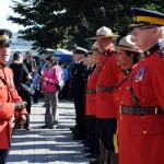 Many Mi'kmaq & Non-Mi'kmaq RCMP attended Treaty Day.