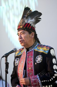 Stephen Augustine, the new Principal of Unama'ki College. Photo by Steven Darby, Museum of Civiliztion (MofC)
