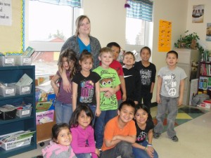 Grade 1 and 2 classes.