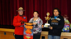 For the first time, a First Nation school captured the WOW Reading challenge – Colchester County Champions. Congratulations to the Elementary and Junior high school Gold winners! Photo by Sharon Culbertson