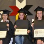 Graduates of Potlotek High School.