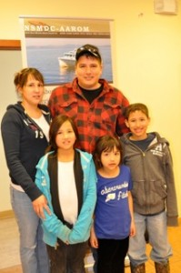 John Sock and his family.