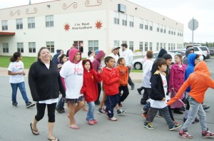 Say No To Bullying Walk. Photo by Sharon Culbertson