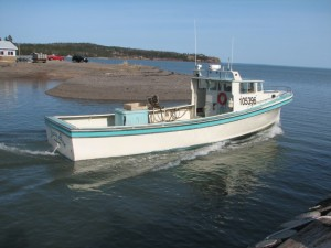 Fort Folly First Nation's lobster boat, Sassy Sue.