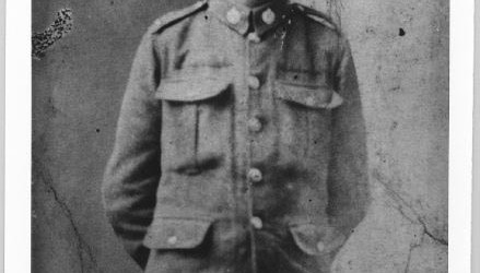 Frank Toney, Canadian Army, WWI.
