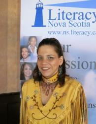 Stephanie Paul, Eskasoni First Nation.