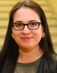 Sara Swasson, Dal's first full-time Aboriginal Student Advisor, says her goal is to create a holistic range of supports for students. Photo by Bruce Bottomley