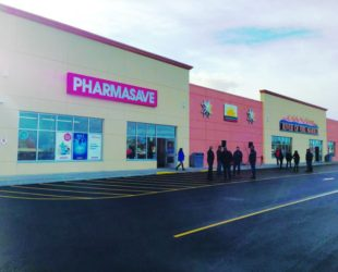 Grand Opening day for the River of Fire Grocery Store and Pharmasave. Photo by the Usand Group
