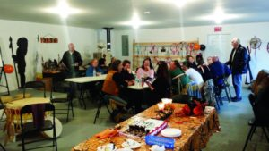 Attendees of the very first Benoit 1st Nation Annual Assembly and Grand opening of the Mi'kmaw Centre in Degrau NL.